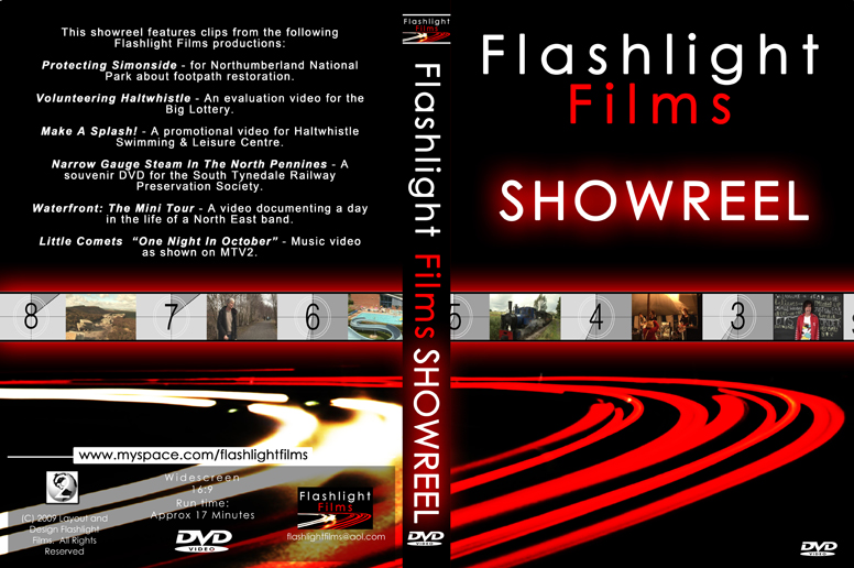 Showreel DVD cover