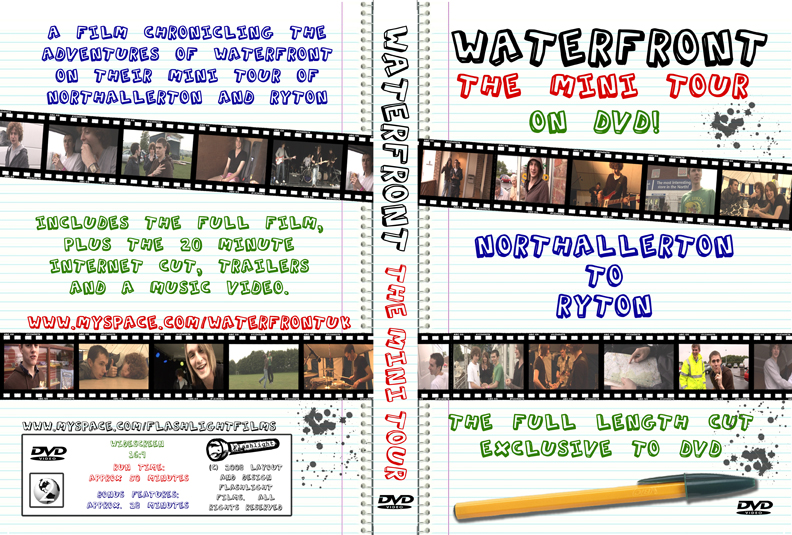 Waterfront tour DVD cover
