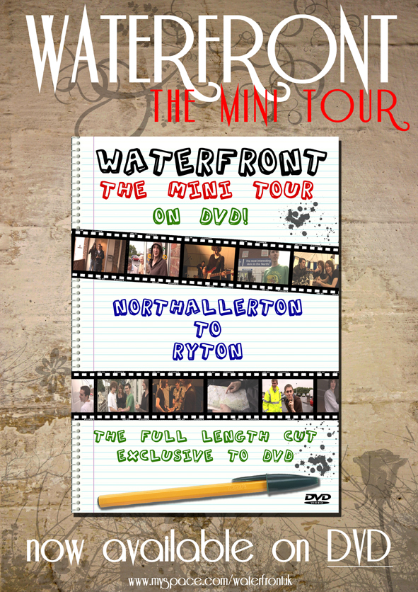 Waterfront tour DVD poster